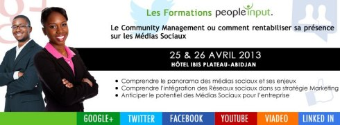 Formation Community management people input à Abidjan