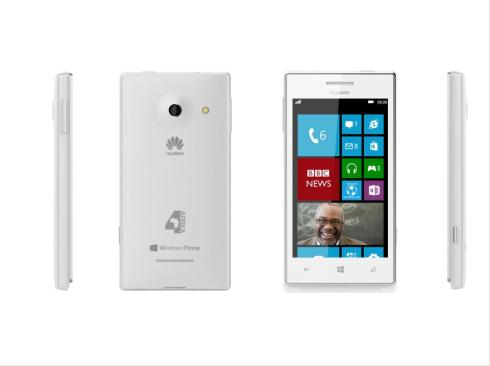 les téléphones huawei 4afrika by Microsoft