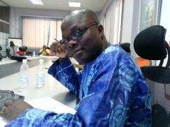 Pr. Antoine Mian, l'un des membres du jury de Imagine Cup Finale Abidjan
