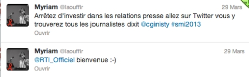 Myriam  laouffir  sur Twitter