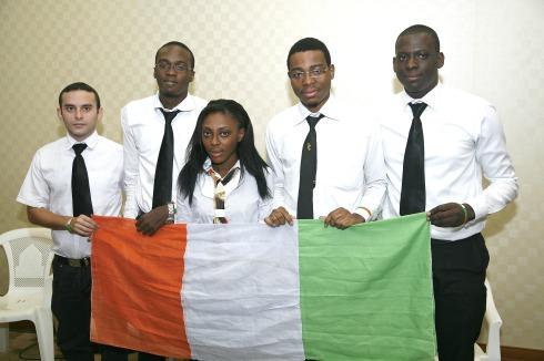 La team kernel avec son projet innovant et social, Neformily, représentera la Côte d'Ivoire à St-Petersbourgh à la Finale Imagine Cup Russia