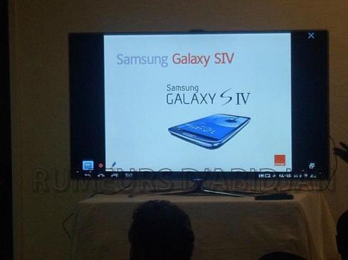 Lancement samsung Galaxy S4