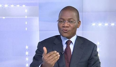 Le Ministre des PTIC, Koné Bruno