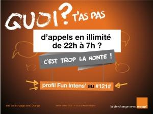 Avec Fun Intens', Orange Côte d'Ivoire vous offre des appels illimités !