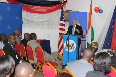 Ambassade des Etats-Unis: L'American Corner d'Abidjan célèbre ses 10 ans