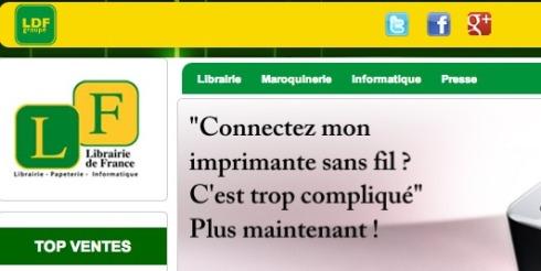 """Comment la Librairie de France va se faire """"avaler"""" par un Géant du e-Commerce"""